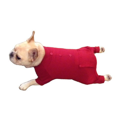 Doggy Long Johns (Red) by Johnwear