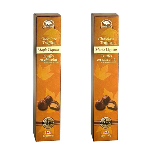 Truffles Chocolate Maple Liqueur (2 Pack) by Canada True
