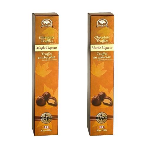 Truffles Chocolate Maple Liqueur (2 Pack) by Canada True