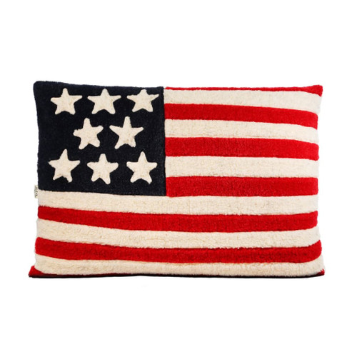 Pet Bed (American Flag) by Aviva Designs
