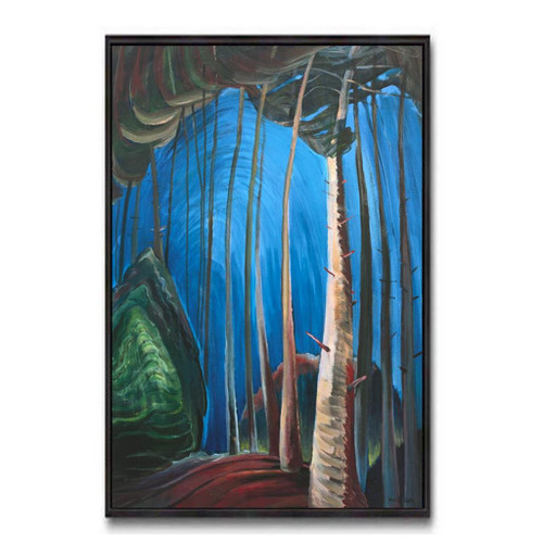 Blue Sky (Group Of Seven) by Emily Carr