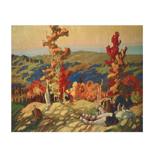 Autumn In The Northland (Group Of Seven) by Franklin Carmichael