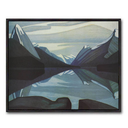 Maligne Lake Jasper Park (Group Of Seven) by Lawren Harris