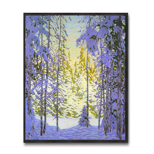 Winter Wonderland (Group Of Seven) by Lawren Harris