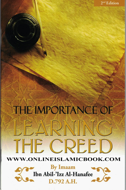 The Importance of Learning the Creed