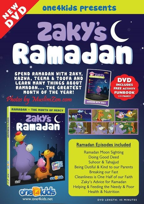 Zaky's Ramadan Spend Ramadan with Zaky, Kazwa, Teeham & Toofa and learn