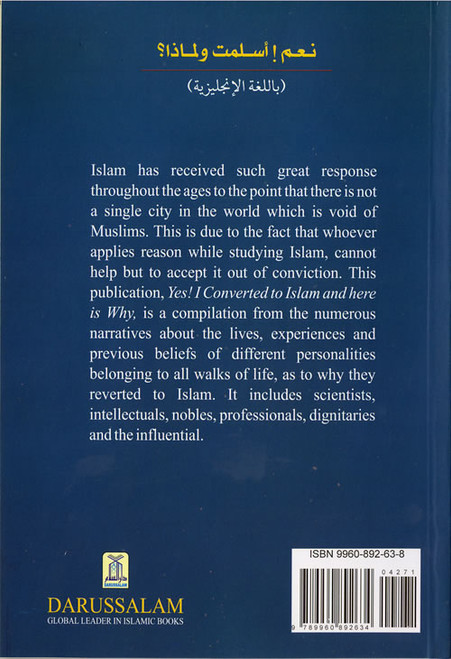 Yes! I Converted to Islam and Here is Why By Muhammad Haneef Shahid
