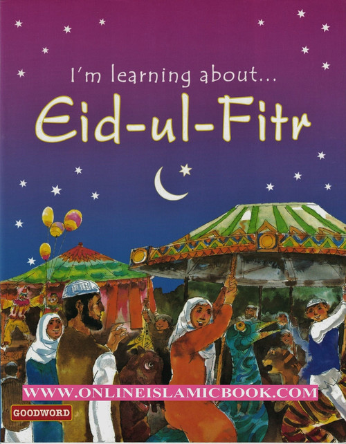 m Learning About Eid-ul-Fitr Eid, which means--happiness--is the most joyous festival of the Muslim calendar. Eid-ul-Fitr is the first day after the month-long fasting of Ramadan. Muslims throughout the world prepare for this day. They give food and money to the poor. They clean their homes, wear their best clothes and prepare special sweets for the family and friends. They also attend special Eid prayers in the mosque or in an open area. This little book on Eid-ul-Fitr tells the story of two young children living in London--how they celebrate their Eid by visiting the mosque, meeting their friends, eating delicious food, and enjoying carnival rides. And how their parents explain to them the true meaning of Eid-ul-Fitr.