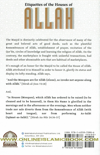 Etiquettes Of The Houses Of Allah