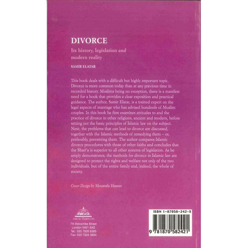 Divorce Its History Legislations and Modern Reality