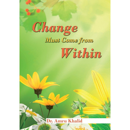 Change Must Come From Within