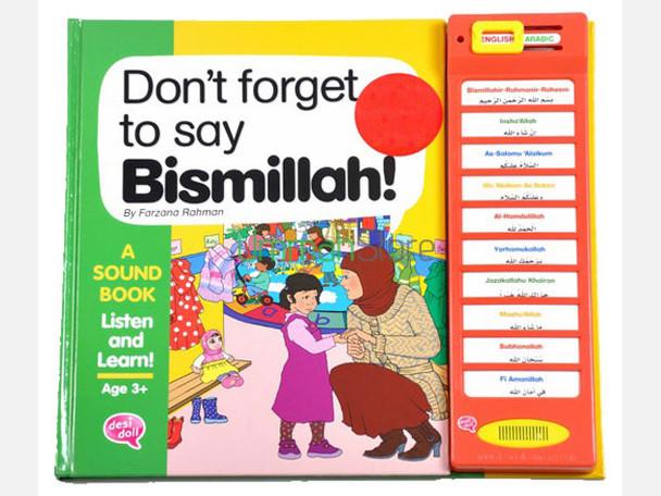 Dont Forget To Say Bismillah