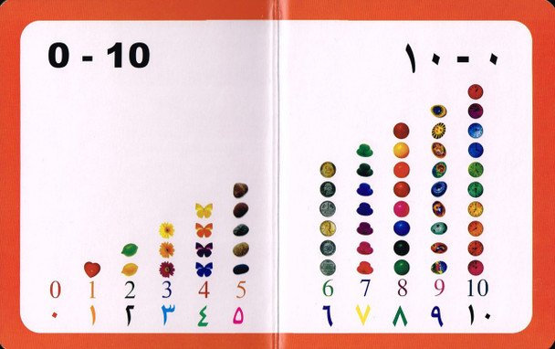 My First Book Numbers (English/arabic )