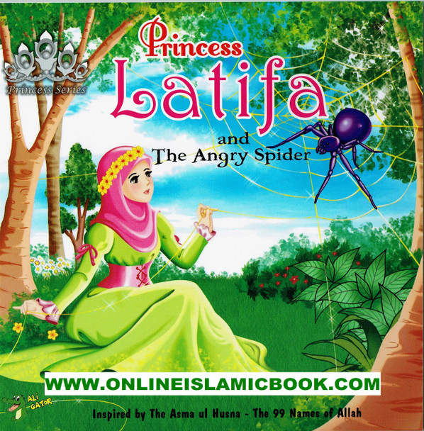 Princess Latifa and The Angry Spider