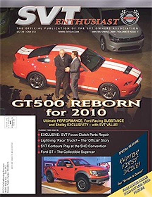 SVT Enthusiast Magazine Vol 3 Issue 1 - 2009