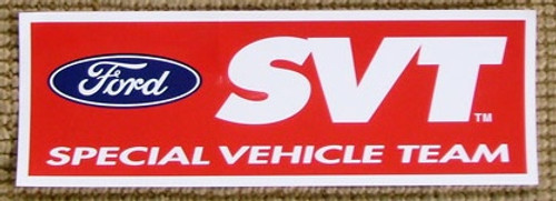 Ford SVT Logo Sticker - 8 inch