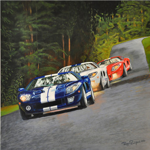 All-American GTs Print Signed by Artist