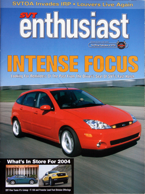 SVT Enthusiast Magazine - Fall 2003
