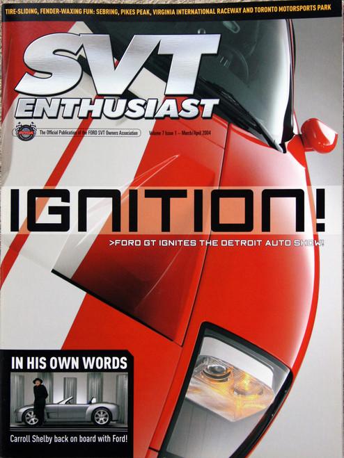 SVT Enthusiast Magazine - March 2004