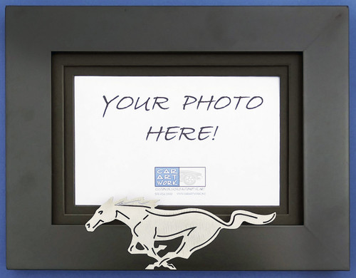 Custom Picture Frame - Mustang Pony