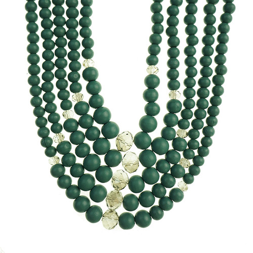 Gannon Dark Teal Necklace
