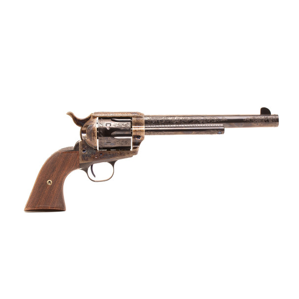 Single Action Revolver C-Coverage Engraving