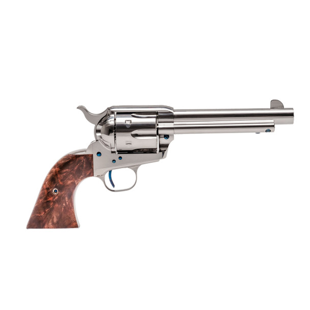 Single Action Revolver Nickel Plated