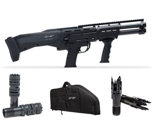 DP-12 with Stiletto and Tactical Chokes and Soft Case