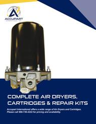 Complete Air Dryers, Cartridges & Repair Kits