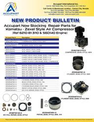 Zexel Repair Kits