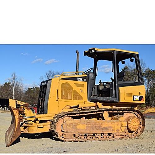 Dozer Cat D3K XLCanopy- 17,000 lb
