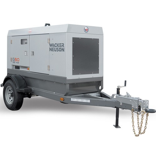 Generator - 42 KW, Towable