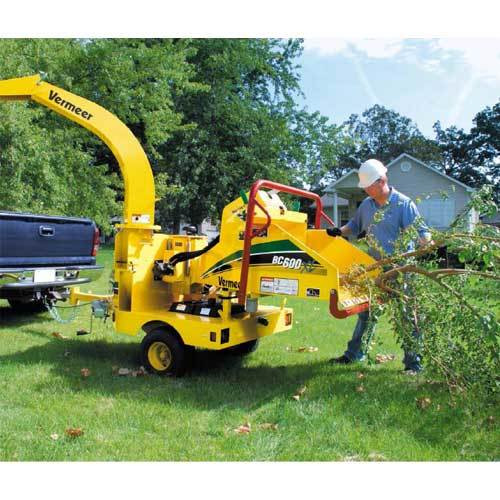 Brush Chipper, 6""