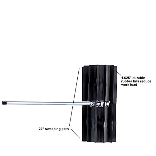 """Power Sweeper Attachment - 24"""""""