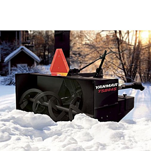 Yanmar Snow Blower - Holmes Rental station, New Equipment