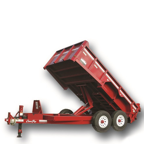 Dump Trailer - 6'x12' - 6K