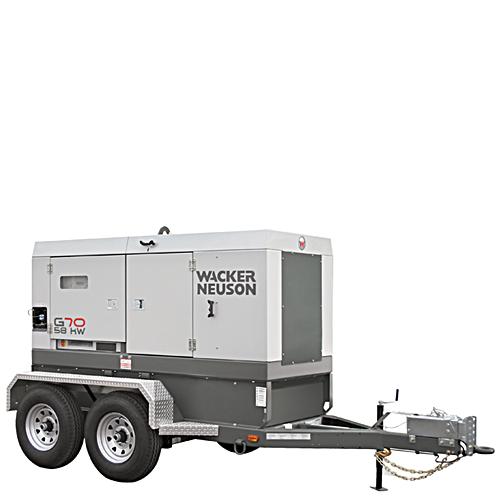 Generator - 63 KW, Towable
