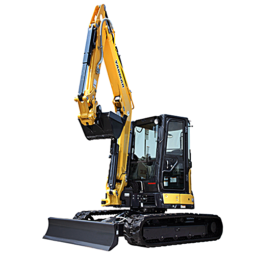 Mini-ExYanmar ViO55-6A W/Thumb 12,300 lb.