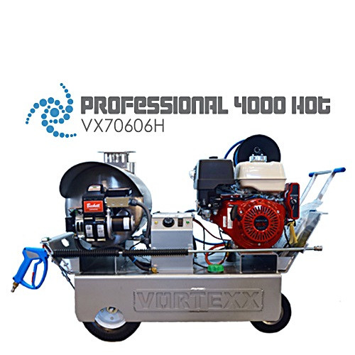 Vortexx Professional 4000 Hot Water Pressure Washer - VX70606H