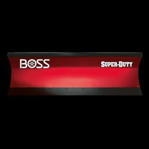 Boss 8' Poly Super Duty Straight-Blade Snowplow