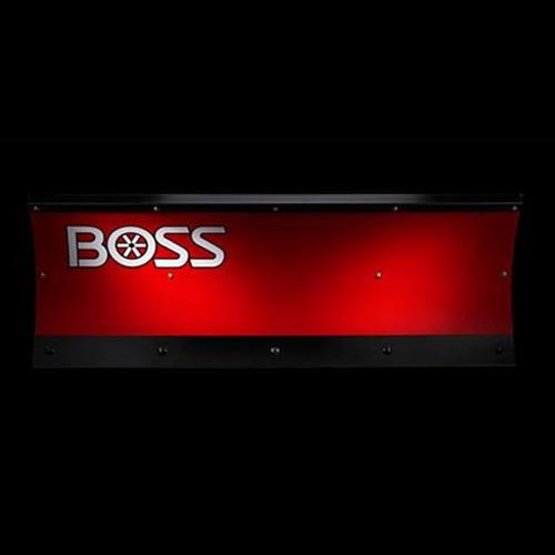 "Boss 6'0"" Poly Straight UTV Snowplow"