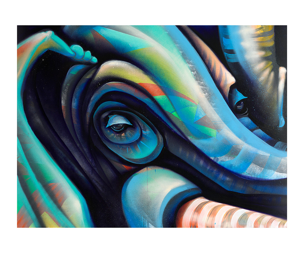 Memory of an Elephant by Erin Yoshi