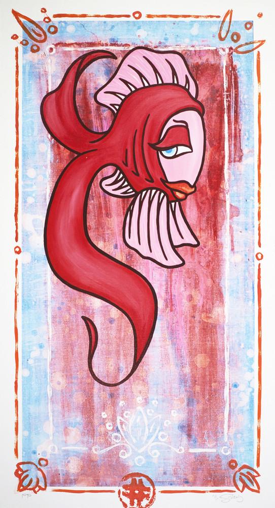 Flirting Fish by Marco Saiz