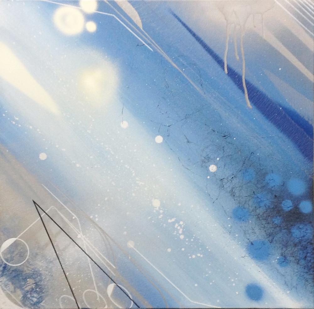 Blue Geo #22 by ESPY DPT/ZNC