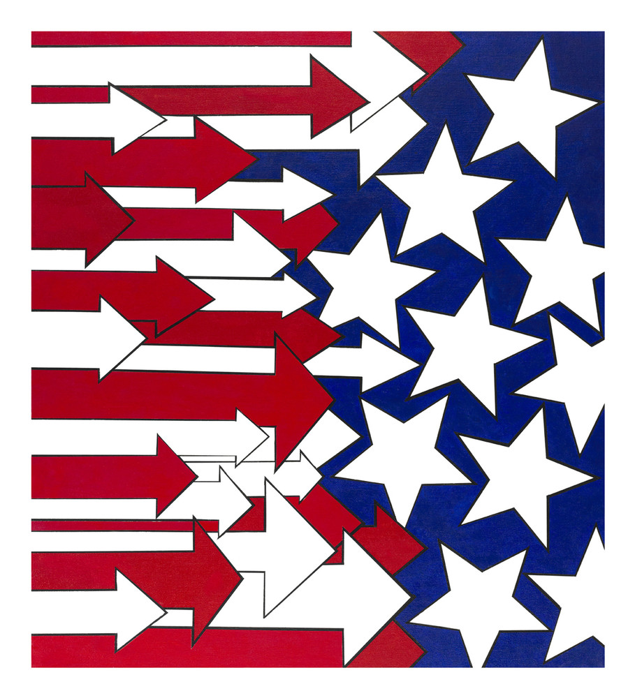 American Stripes & Stars by Judy Ostro