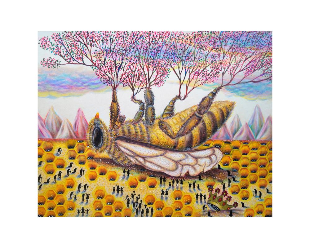 """Queen Bee by Johnny """"Zurdo"""" Quintanilla"""