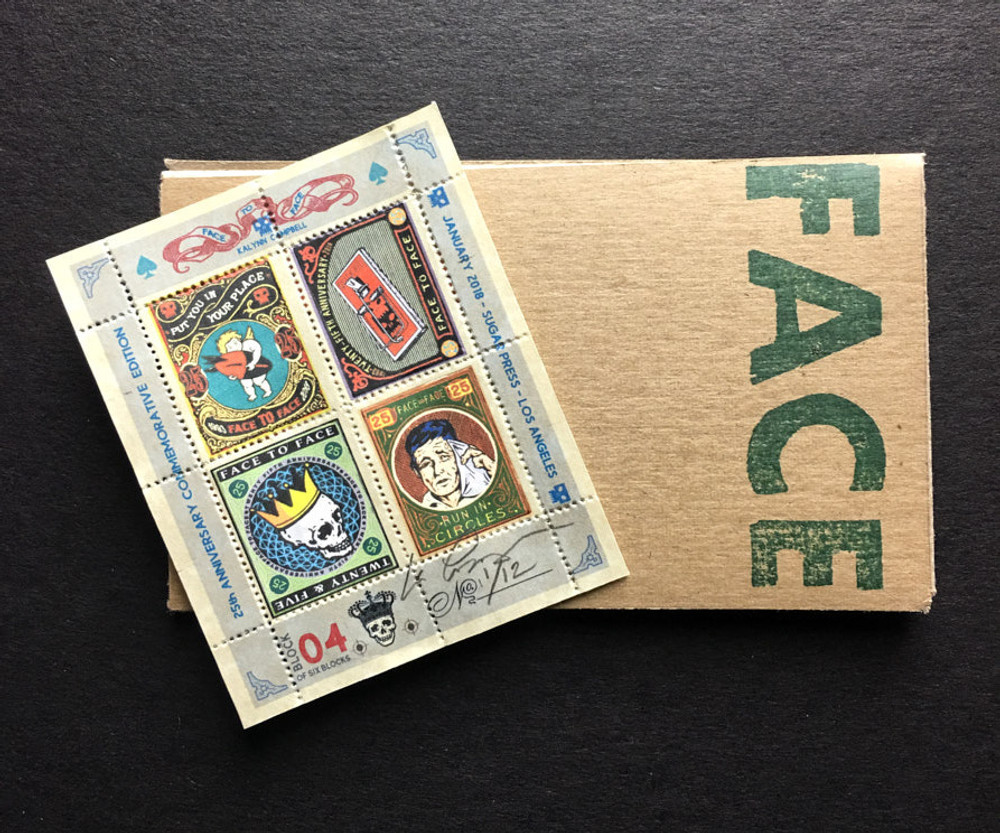 Commemorative Stamp Set - Block 4 - by Kalynn Campbell