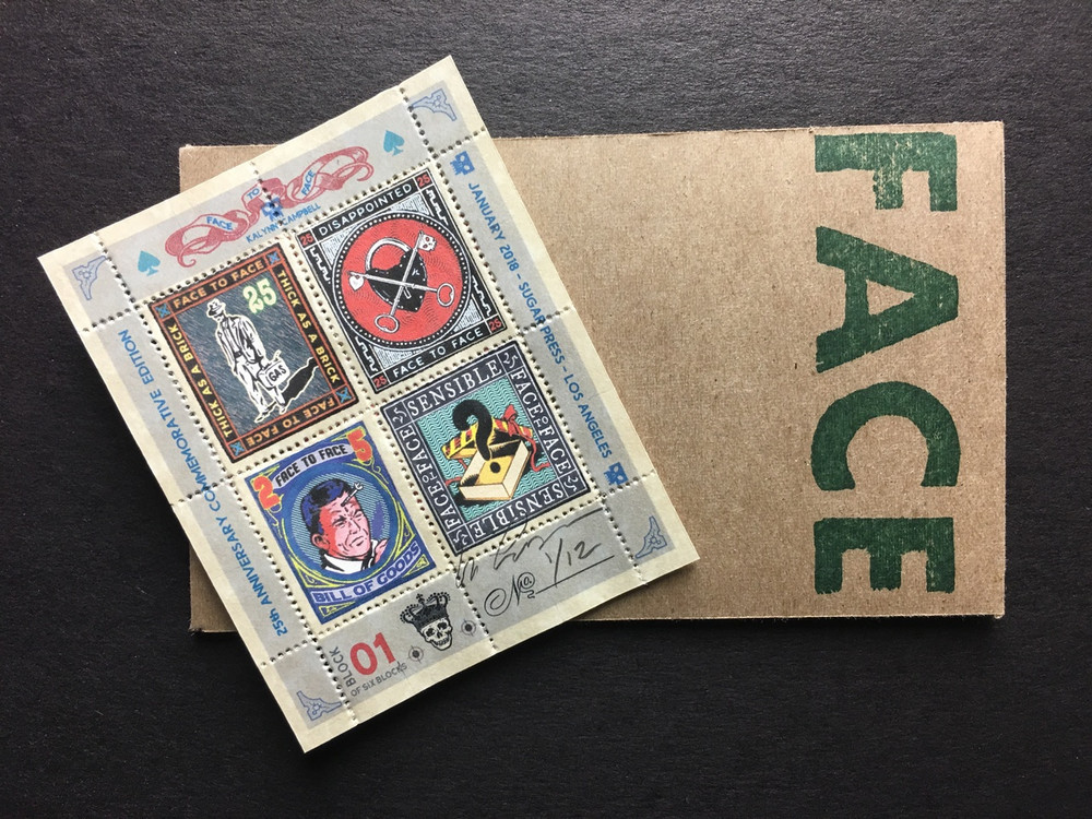 Commemorative Stamp Set - Block 1 - by Kalynn Campbell