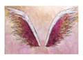 Wings on Pink by Colette Miller
