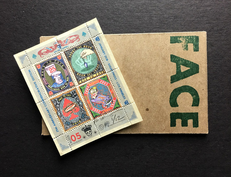 Commemorative Stamp Set - Block 5 - by Kalynn Campbell
